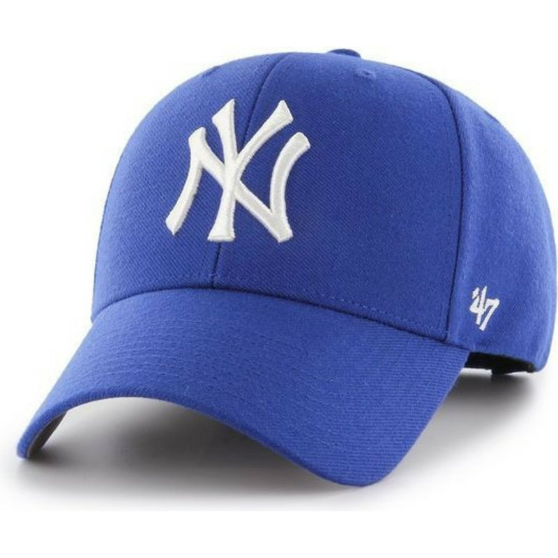 47-brand-curved-brim-new-york-yankees-mlb-mvp-blue-snapback-cap