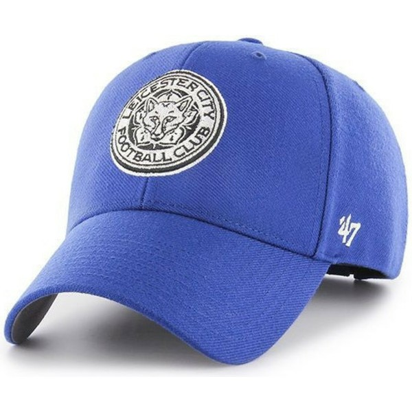 47-brand-curved-brim-fox-logo-leicester-city-football-club-mvp-blue-cap