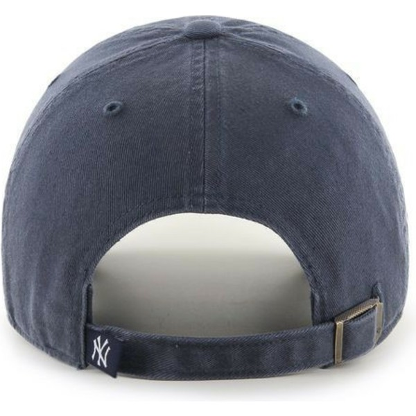 47-brand-curved-brim-new-york-yankees-mlb-clean-up-grey-denim-cap