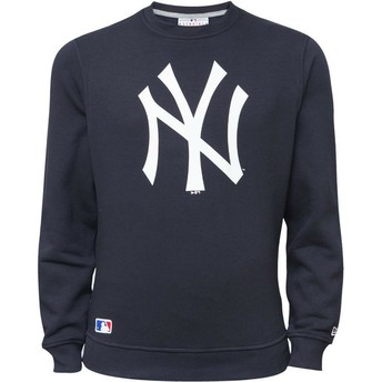 New Era New York Yankees MLB Blue Crew Neck Sweatshirt