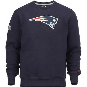 New Era New England Patriots NFL Blue Crew Neck Sweatshirt