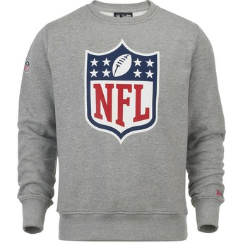 New Era NFL Grey Crew Neck Sweatshirt