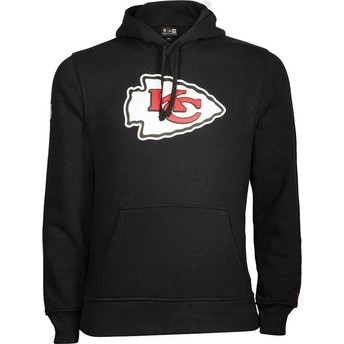 New Era Kansas City Chiefs NFL Black Pullover Hoodie Sweatshirt