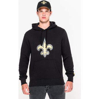 New Era New Orleans Saints NFL Black Pullover Hoodie Sweatshirt