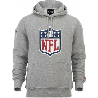New Era NFL Grey Pullover Hoodie Sweatshirt