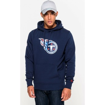 New Era Tennessee Titans NFL Blue Pullover Hoodie Sweatshirt