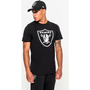 New Era Oakland Raiders NFL Black T-Shirt