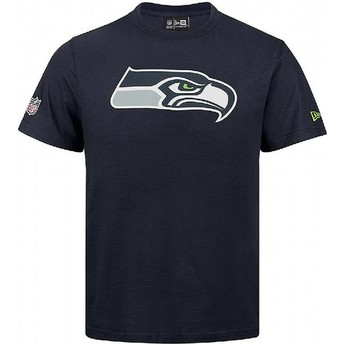 New Era Seattle Seahawks NFL Blue T-Shirt