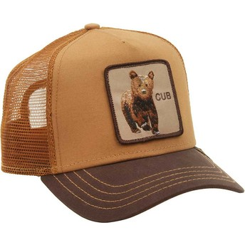 Goorin Bros. Bear Cub Brown Trucker Hat