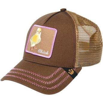 Goorin Bros. Chick Chicky Boom Brown Trucker Hat