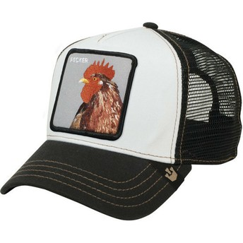 Goorin Bros. Rooster Plucker Black Trucker Hat