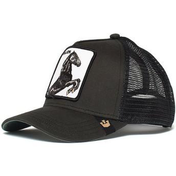 Goorin Bros. Horse Spirit Stallion Black Trucker Hat