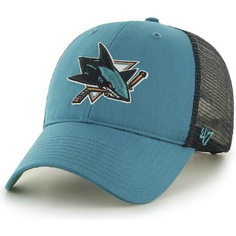 47 Brand San Jose Sharks NHL MVP Branson Green Trucker Hat