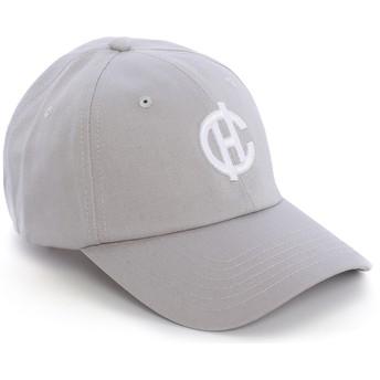 Caphunters Curved Brim CH Logo Aspen Grey Cap