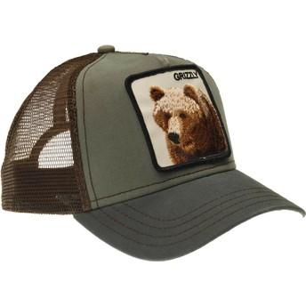 Goorin Bros. Bear Grizz Green Trucker Hat