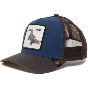 Goorin Bros. Crocodile Snap At Ya Blue Trucker Hat