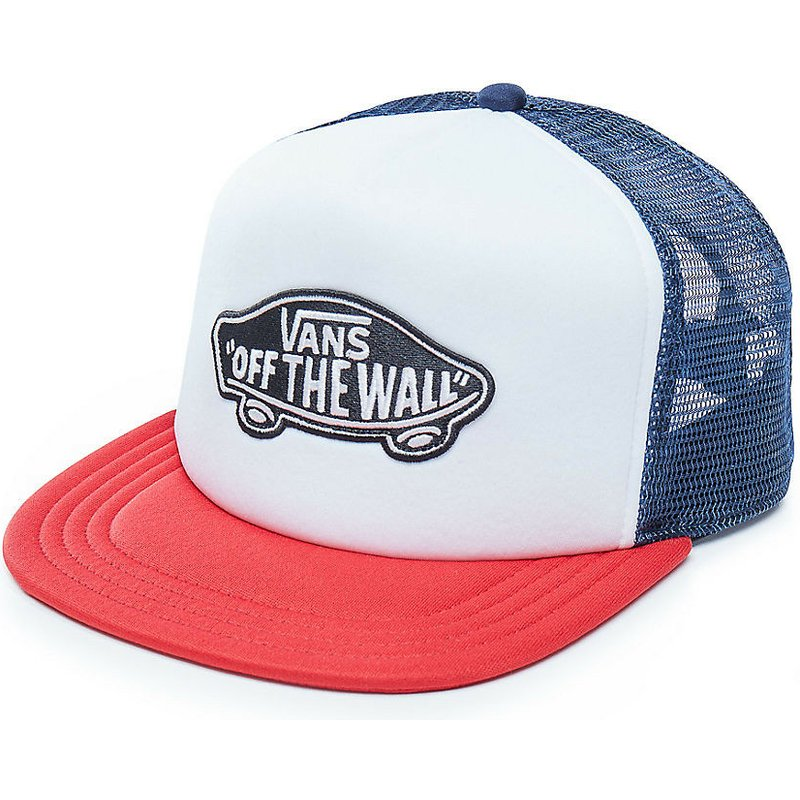 vans-classic-patch-white-blue-and-red-trucker-hat