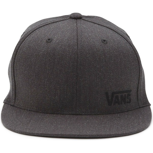 vans-flat-brim-splitz-flexfit-dark-grey-fitted-cap