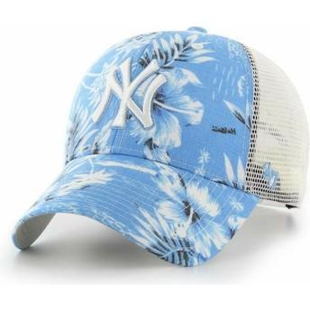 47 Brand New York Yankees MLB MVP South Coast Blue Trucker Hat