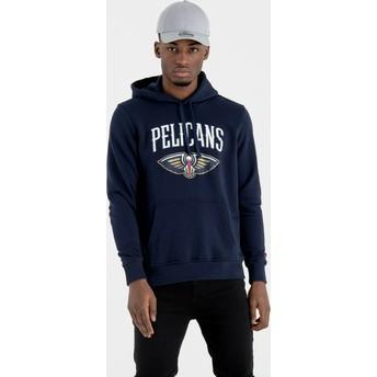 New Era New Orleans Pelicans NBA Navy Blue Pullover Hoody Sweatshirt