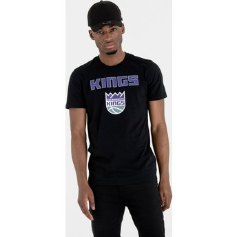 New Era Sacramento Kings NBA Black T-Shirt