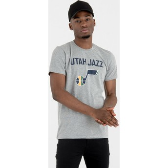 New Era Utah Jazz NBA Grey T-Shirt