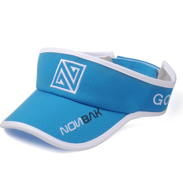 nonbak-anti-sweat-blue-adjustable-visor
