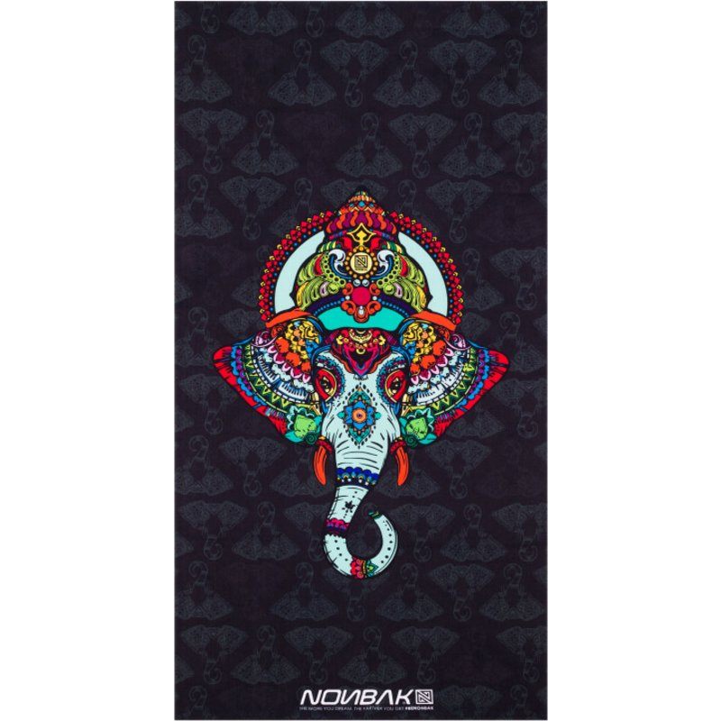 nonbak-india-goa-black-microfiber-cotton-towel