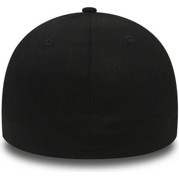 new-era-curved-brim-black-logo39thirty-essential-los-angeles-dodgers-mlb-black-fitted-cap