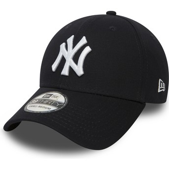 New Era Curved Brim 39THIRTY Classic New York Yankees MLB Navy Blue Fitted Cap