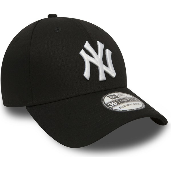 new-era-curved-brim-39thirty-classic-new-york-yankees-mlb-black-fitted-cap