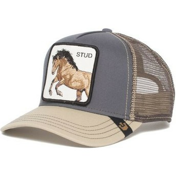 Goorin Bros. Horse You Stud Grey Trucker Hat