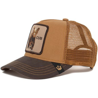 Goorin Bros. Youth Baby Cub Brown Trucker Hat