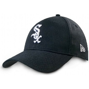 New Era Curved Brim 9FORTY The League Chicago White Sox MLB Black Adjustable Cap