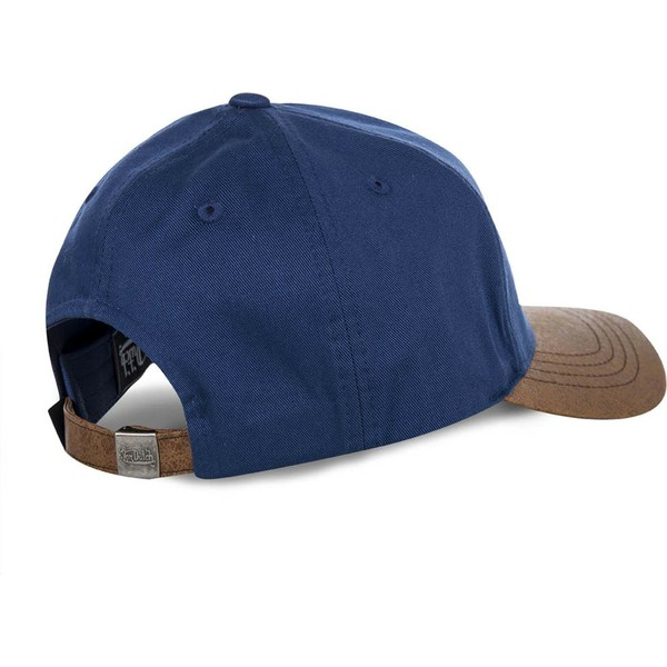 von-dutch-curved-brim-chuck-blue-and-brown-adjustable-cap