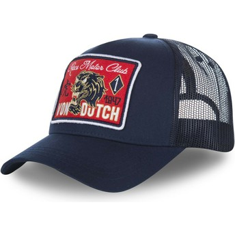 Von Dutch FAMOUS2 Navy Blue Trucker Hat
