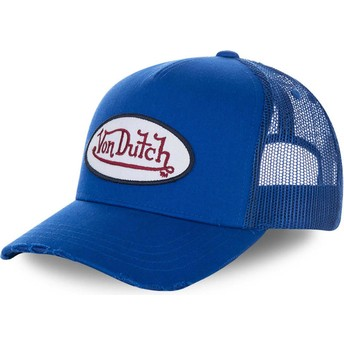 Von Dutch FRESH02 Blue Trucker Hat
