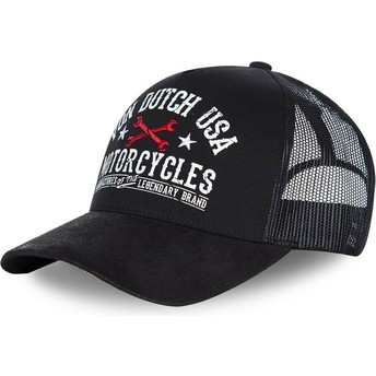 Von Dutch GARN2 Black Trucker Hat