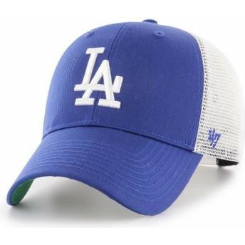 47 Brand Los Angeles Dodgers MLB MVP Branson Blue Trucker Hat
