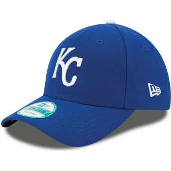 New Era Curved Brim 9FORTY The League Kansas City Royals MLB Blue Adjustable Cap