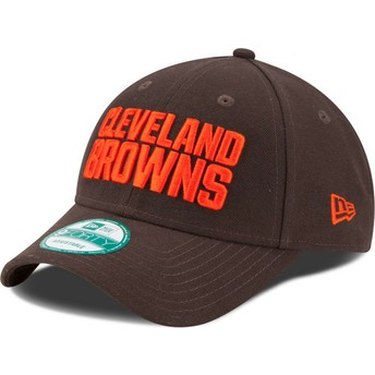 New Era Curved Brim 9FORTY The League Cleveland Browns NFL Brown Adjustable Cap
