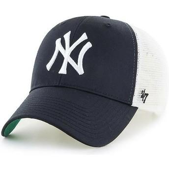 47 Brand Youth New York Yankees MLB MVP Branson Black Trucker Hat