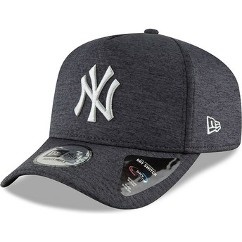 New Era Curved Brim 9FORTY Dry Switch A Frame New York Yankees MLB Black Snapback Cap