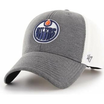 47 Brand Curved Brim Edmonton Oilers NHL MVP Haskell Grey Cap