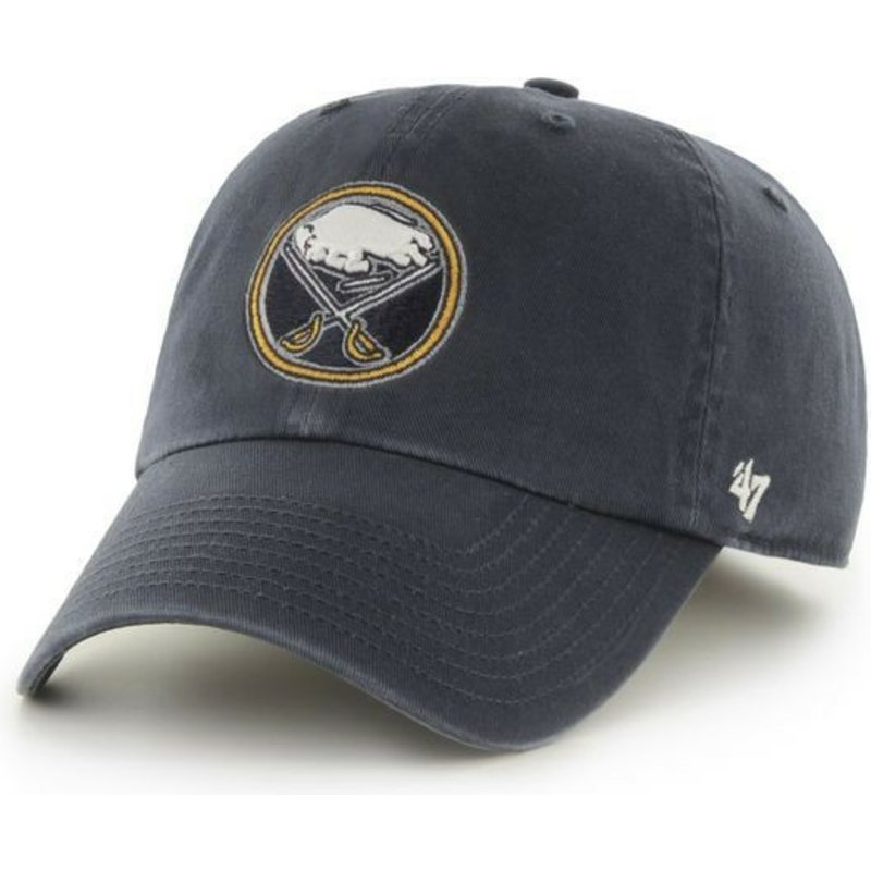 47-brand-curved-brim-buffalo-sabres-nhl-clean-up-navy-blue-cap