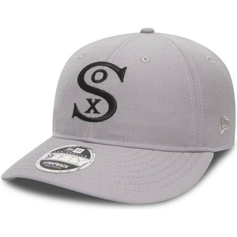 New Era Curved Brim 9FIFTY Low Profile City Series Chicago White Sox MLB Grey Adjustable Cap
