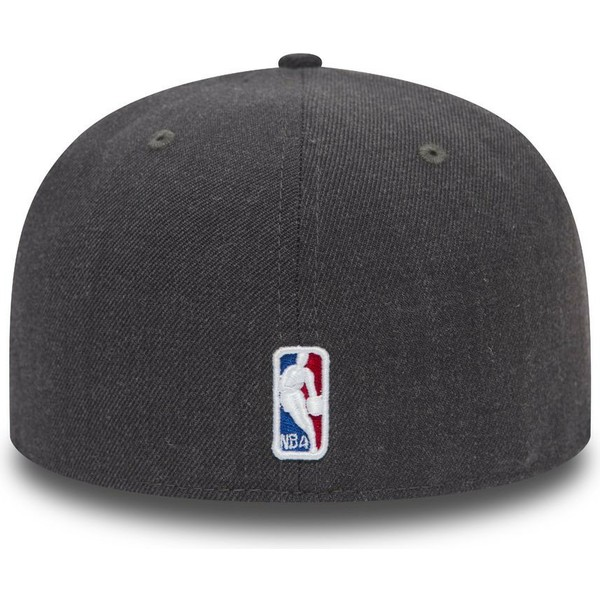 new-era-flat-brim-59fifty-heather-chicago-bulls-nba-black-fitted-cap