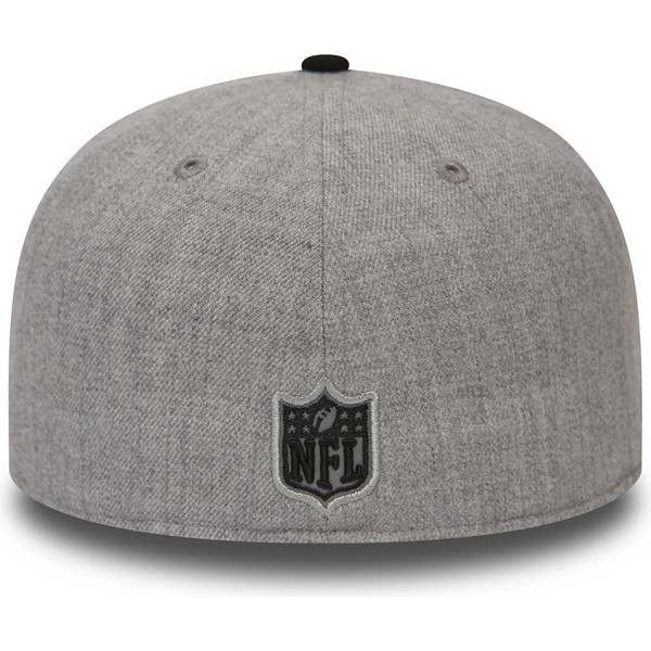 new-era-flat-brim-59fifty-reflective-heather-oakland-raiders-nfl-grey-and-black-fitted-cap