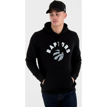 New Era Pullover Hoody Toronto Raptors NBA Black Sweatshirt