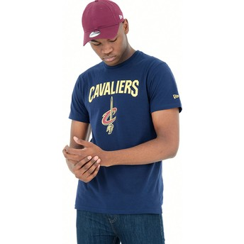 New Era Cleveland Cavaliers NBA Blue T-Shirt